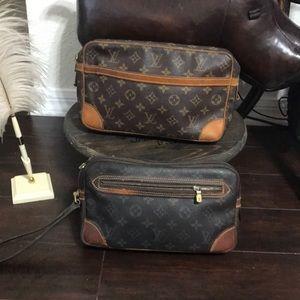 Authentic Louis Vuitton compiegne and dragonne
